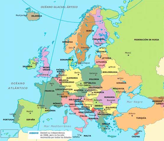 continente europa
