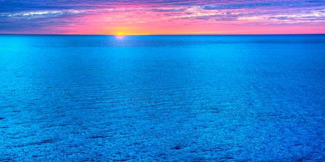 mar azul
