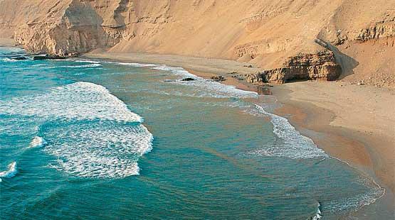 mar peruano verde