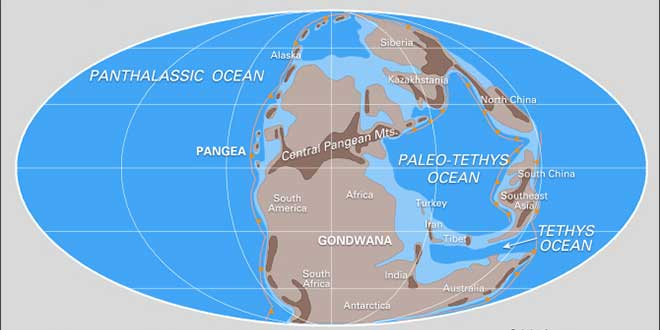La Tierra, Pangea: era Arcaica