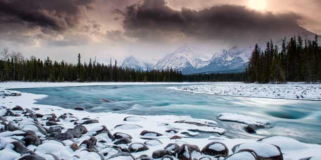 rio origen glacial