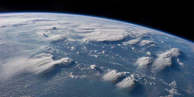 Tormentas vistas desde el espacio