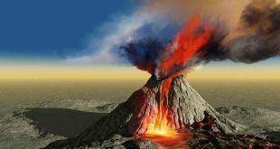 volcán erupción